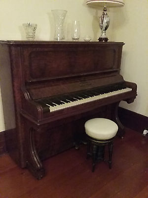 Piano - Upright - Polished Timber ( John Brinsmead & Sons London)
