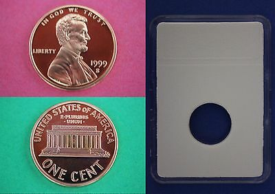 1999 S Proof Lincoln Memorial Cent Penny With DIY Slab Combined Shipping