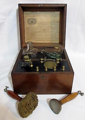 Antique Electric Shock Quack Medical JEROME KIDDER'S ELECTRO-MAGNETIC MACHINE