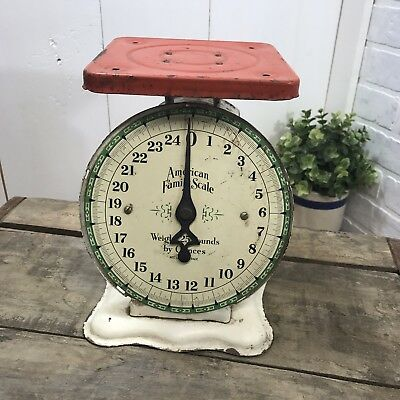 Farmhouse Vintage American Family Scale