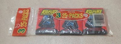 "1980 Topps ""The Empire Strikes Back - Series 1"" - Grocery Pack (inc 3 Wax Packs)"