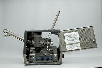 1964 Bell & Howell Filmosound 302C 16mm Optical & Magnetic Sound Movie Projector