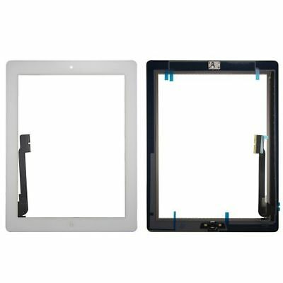 OEM Touch Screen Glass White Digitizer+Home Button for  iPad3 A1416 1403 1430-US