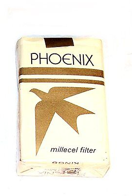 1980 Brown Williamson Test Cigarette Empty Pack Phoenix Milicell Filter MkOfr