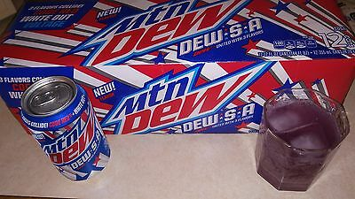 Mountain Dew Dew.S.A Limited Edition Full Can