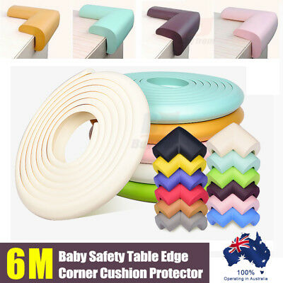 6M Baby Safety Table Edge Corner Cushion Protector Soft Foam Guard Bumper