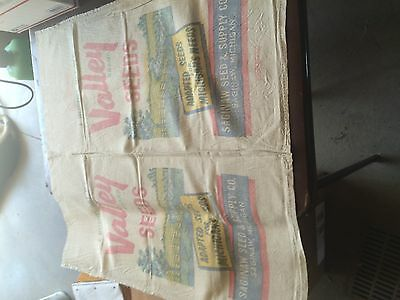 Cotton Canvas SEED grain FEED BAG SACK ORIGINAL
