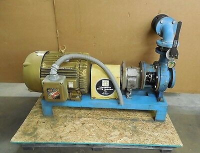 "Peerless 96Mpe54 4""x3"" 50Hp Horizontal Centrifugal Pump 230/460V 3Ph"