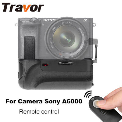 Camera Battery Grip For  Sony A6000 Mirrorless Digital Camera with IR function