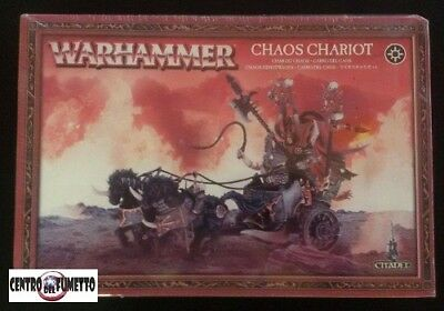 "Warhammer Fantasy – ""Carro del Caos"" / ""Chaos Chariot"" – Games Workshop"