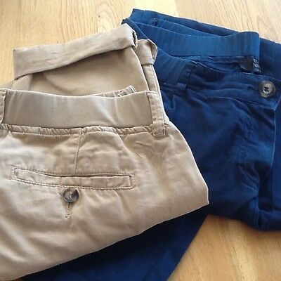 Topshop maternity chinos bundle size 8