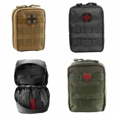 Molle Tactical Rip Away First Aid Pouch IFAK EMT Medical EDC Utility Bag 600D