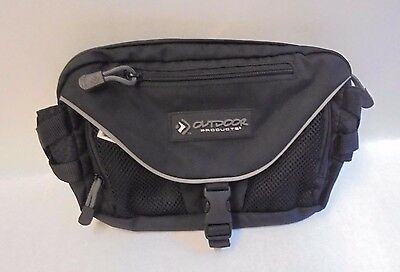 Waist Fanny Pack Road Runner Outdoor Products Reflective Accessory Pockets Black