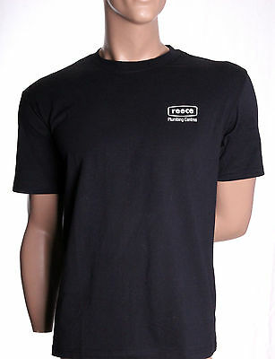 REECE Plumbing T-Shirt MENS Tradie/Uniform Trade FREE CAP