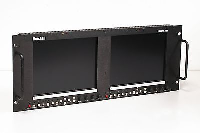 "Marshall V-R842P-AFHD Twin 8.4"" HD LCD Monitor"