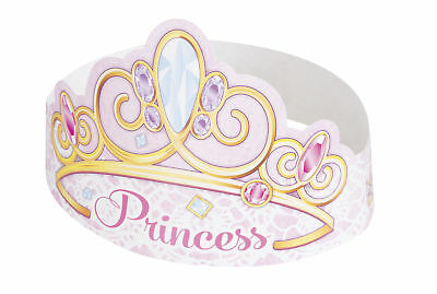 Tiaras x6 Girls Birthday Party Pink Princess Headwear