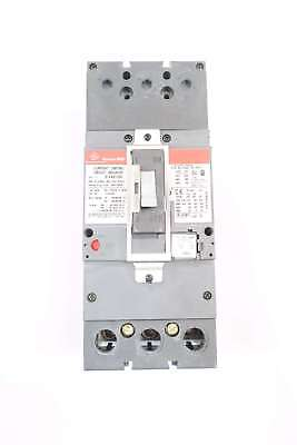 Ge Sfla36At0250 Spectra Rms 3P 250A 600V-Ac Circuit Breaker W/125A Plug D569932