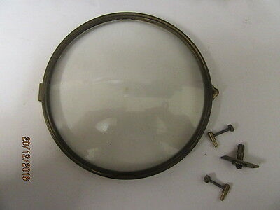 Bezel And Glass With Attachments Ideal For Mantel Clocks