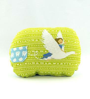 New Mighty Twenty Tooth Fairy Pillow With Record Book