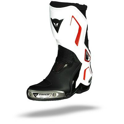 Dainese Torque D1 Out Boots Black White Lava-Red, Motorcycle Boots, NEW!