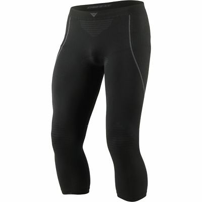 Dainese D-Core Dry Mens 3/4 Base Layer Pants  Black/Anthracite MD