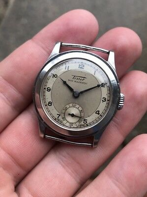 Tissot Stainless Steel Men's Non Magnetic Vintage Watch