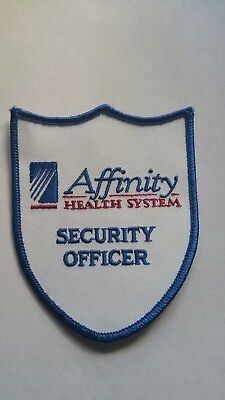 Affinity Health System Security Police Patch Wisconsin WI