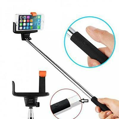 BLUETOOTH SELFIE STICK MONOPOD BUILT-IN WIRELESS REMOTE SHUTTER for SMARTPHONES