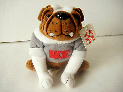 Vtg 1999 Ike Bulldog Beenie Plush Purina Dog Food W/tag