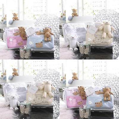 Izziwotnot Precious 3 Piece Luxury Baby Gift Box Set