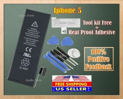 Brand NEW Original OEM Replacement iPhone 5 Battery 1440 mAh + Tool Kit