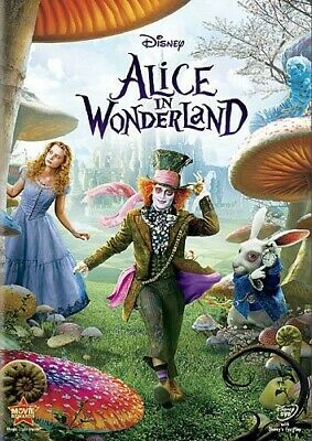 Alice in Wonderland (2010) [New DVD] Ac-3/Dolby Digital, Dolby, Dubbed, Subtit
