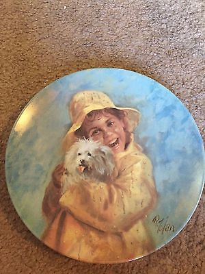 American Artists collector plate Patrick's Puppy Richard Zolan 1982