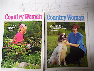 Lot Of 2 Country Woman  Magazines