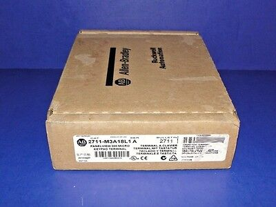 FACTORY SEALED Allen Bradley 2711-M3A18L1 /A PanelView 300 Micro RS-232 / DF1