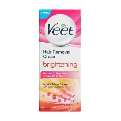 Veet Hair Removal Cream Brightening For Normal To Dry Skin 60 gm