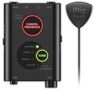 IK Multimedia iRig Acoustic Stage - Advanced Mic System for Acoustic Guitars
