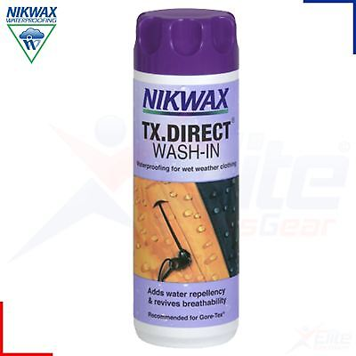 Nikwax TX Direct Wash in Waterproofing for Wet Weather Outdoor Clothing 300ml
