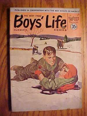 Classics Illustrated  Boys' Life #2 - 1958 - Gd/vg- Condition