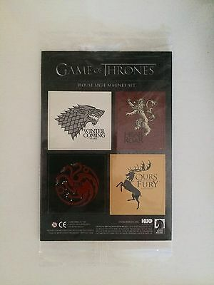 Game of Thrones GOT Collectible Magnet Set Loot Crate