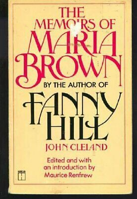 Memoirs of Maria Brown by Cleland, John Paperback Book The Cheap Fast Free Post