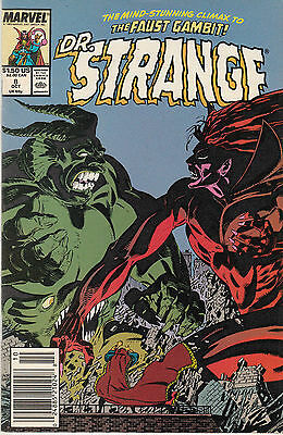 DOCTOR STRANGE (3RD SERIES) 8...NM-...1989...Butch Guice...Bargain!