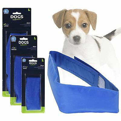 Dog Cat Pet Self Cooling Gel Neck Collar Summer Heat Hot Weather Relief Cool Pad