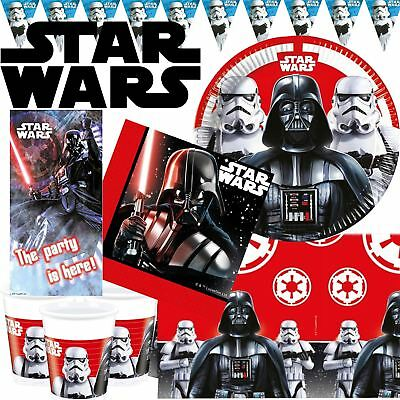 Classic Star Wars Birthday Party Supplies Decorations Darth Vader Tableware