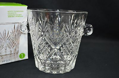 High Quality Glass 17CM  Ice Can