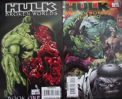HULK: BROKEN WORLDS 1,2...NM-...2009...Hulk Tales From 8 Worlds!...Bargain!