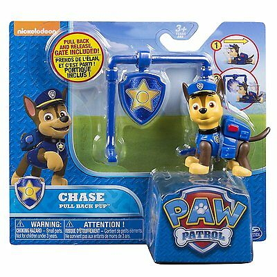 NEW Nickelodeon Paw Patrol Action Pack Pull Back Pup Chase