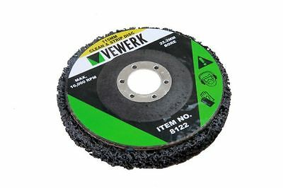 115mm Stripping Disc Strip Wheel Paint Rust Removal Clean Angle Grinder  Metal