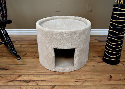 "New Cat Condos 17"" New Extra Large Carpeted Cat Condo"