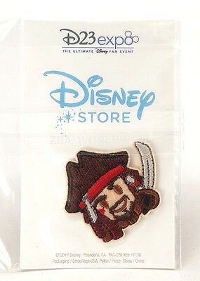 Disney Store D23 Expo 2017 Pirates of the Caribbean Captain Jack Sparrow Patch